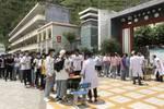 开考!金川县432名学生参加中考