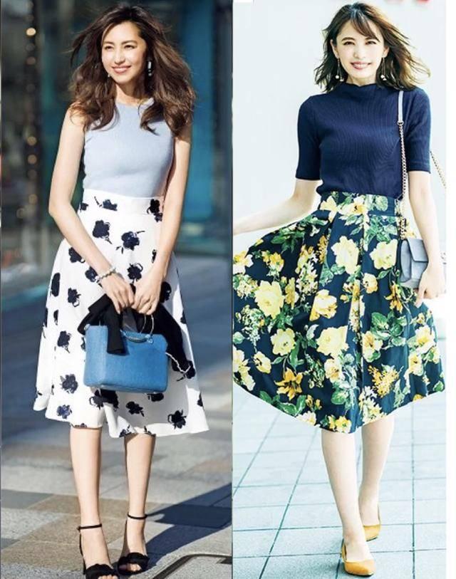 你和時髦的差距并不僅僅是一條半裙,多款半身裙的穿搭法則