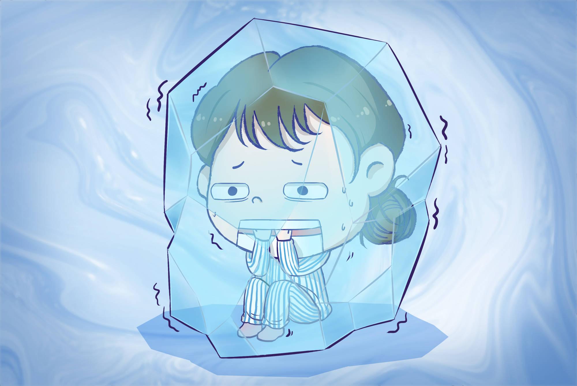产房分娩时,除了痛感,还有一种感觉很强烈:冷到发抖