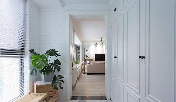 不单调很时尚的北欧风装修,客餐厅一体,大开间户型这样装真好看