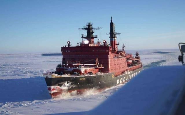破冰船带导弹!美媒:俄罗斯大搞北极军事化,威胁全世界和平!