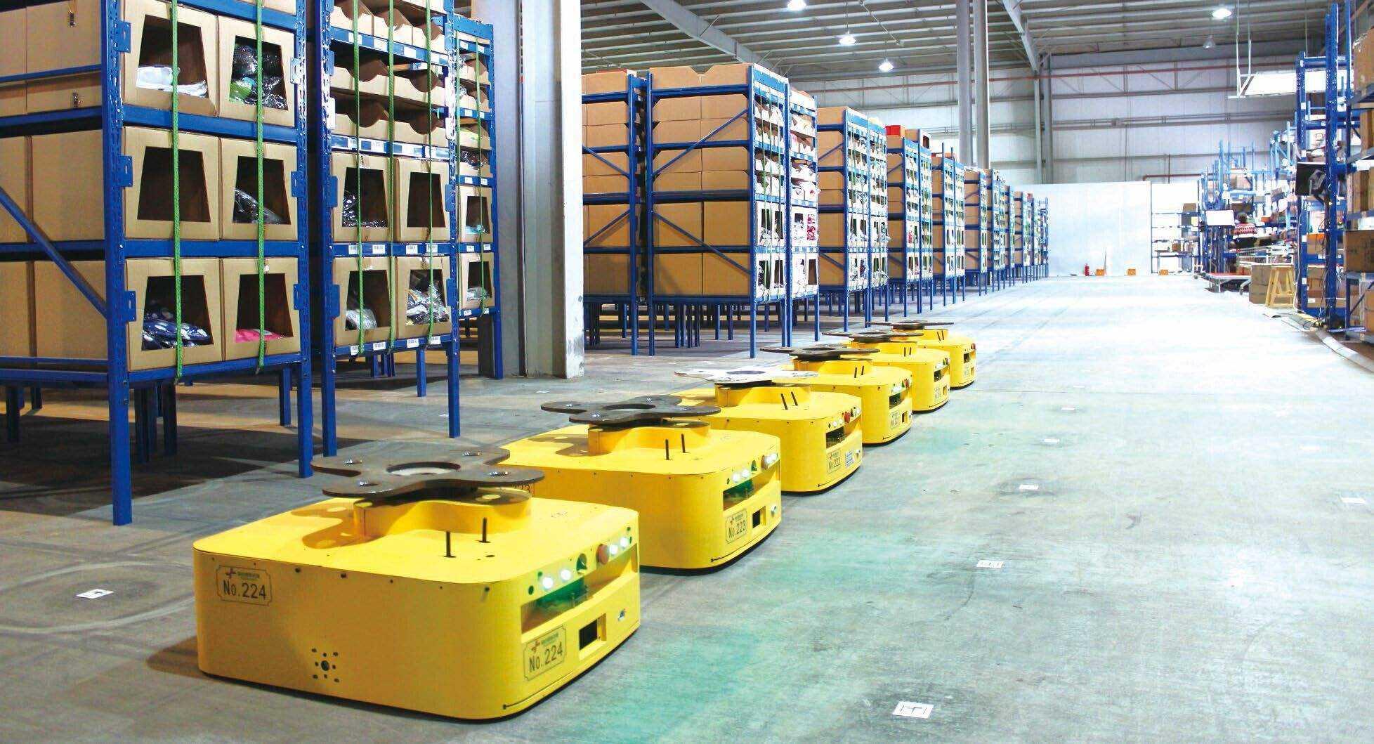 『時代』自動化倉儲時代的到來是否會取代電商倉儲外包服務?,