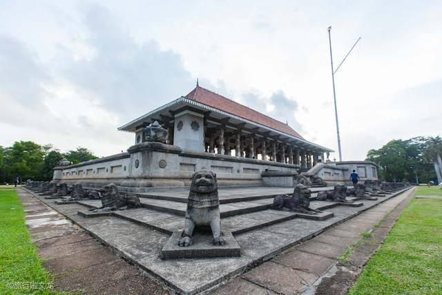 [独立]1948年独立仪式举行地,周总理也曾来此,斯里兰卡科伦坡独立广场