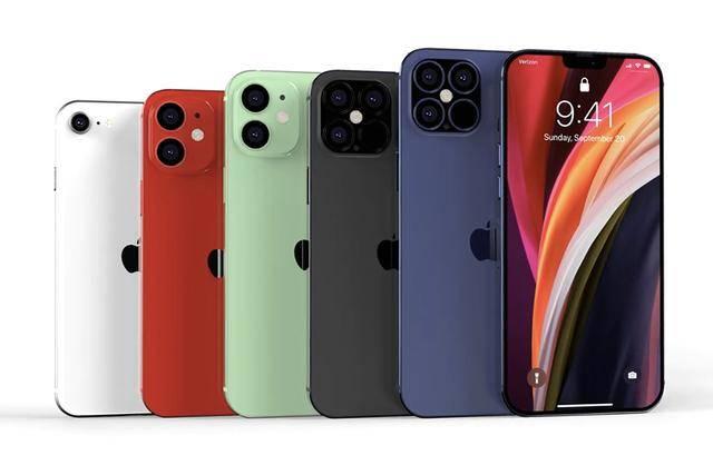 iPhone12Pro放大招:120Hz+A14仿生+后置四摄,这才是苹果的实力