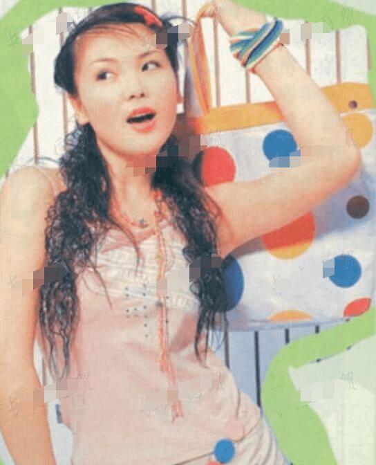 刘涛早年青涩照曝光,是不是纯天然美女,一目了然图片