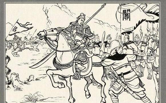关平被关羽收为义子是在《三国演义》的第二十八回中.图片