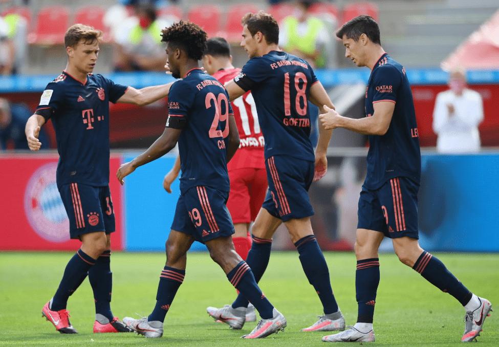 冠军来了!拜仁最快下轮登顶 30轮90球创德甲新纪录