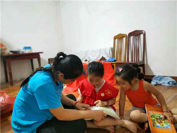 一起学习,快乐成长-记稳恒者喻义巷儿童服务站乐乐同学