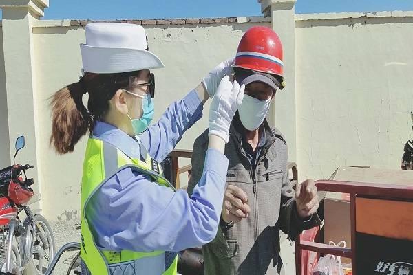 吉木乃县公安局开展低速电动车专项整治行动