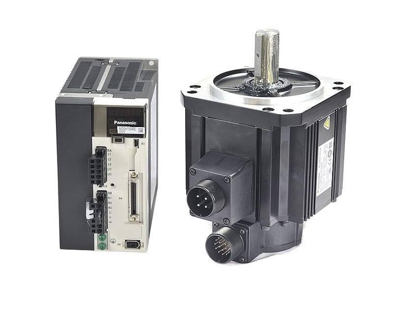 无刷电机电风扇,伺服电机电气连接端口的连接方式_反馈