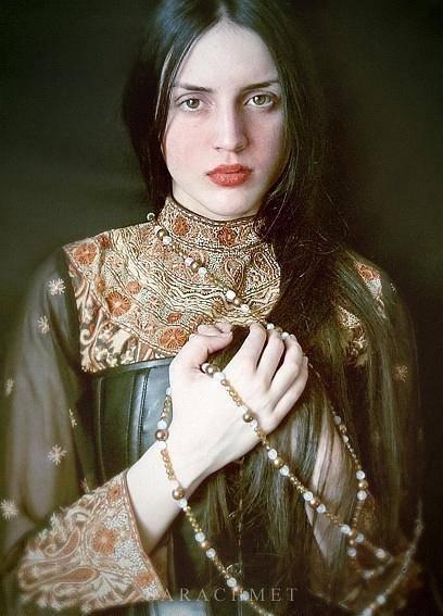 人体艺术——宛如古典油画般的气质美人