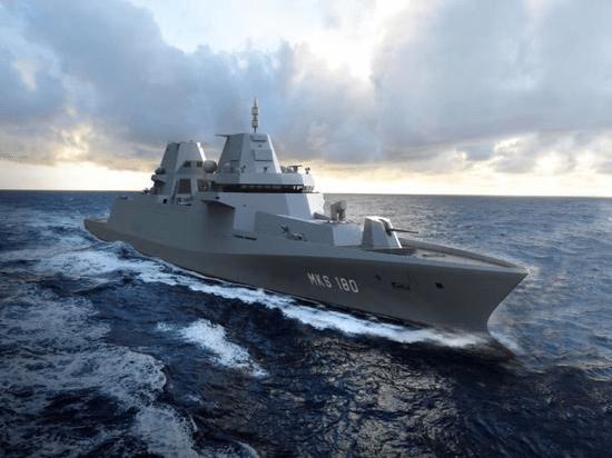 德国工业神话破灭?9000吨护卫舰由荷兰建造,作战性能不如F-123_德国新闻_德国中文网