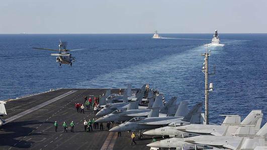 出师未捷身先死 航母舰载机突然神秘坠毁 美军迅速封锁周边海域