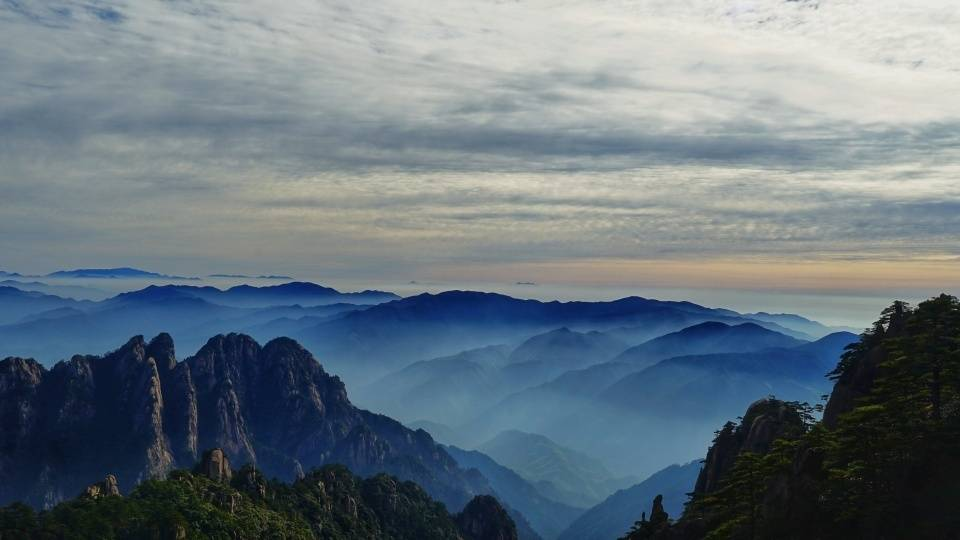 原创             安徽除了黄山之外,还有这三座山值得打卡,你登过哪几座?