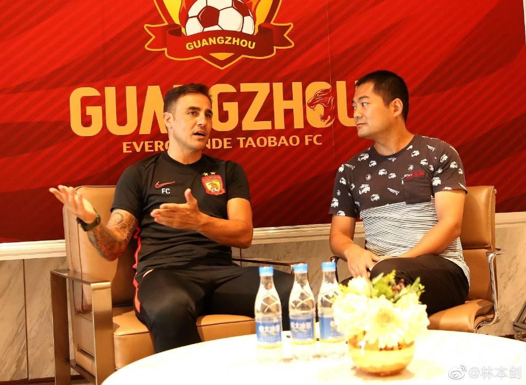 卡纳瓦罗:不会对郑智有保留 暗示新赛季仍有比赛机会