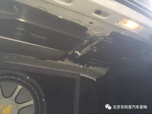 让音乐陪你出行 迈腾改装绅士宝TC6.3—北京车知音汽车音响改装