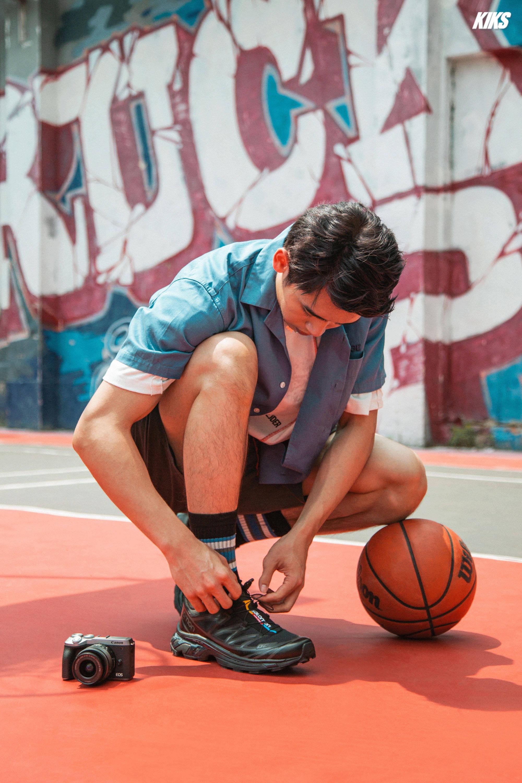 街头篮球场 教你拍出自己的潮流vlog