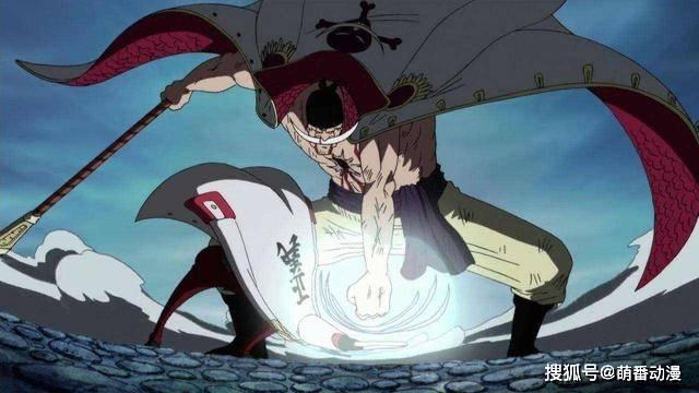 《海贼王》同个时代的人,为何战国和卡普身体棒,白胡子却病恹恹_尾田