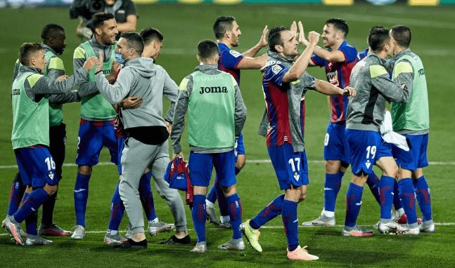2-1!西甲联赛晋级队又获胜,西班牙人球队落伍敌人11分,基础明确退级!