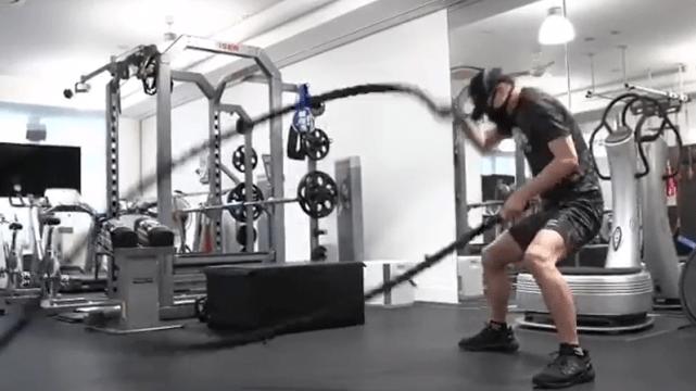 原创 黑泽良平每天高强度训练,看这一身肌肉后网友赞叹:林志玲好幸福