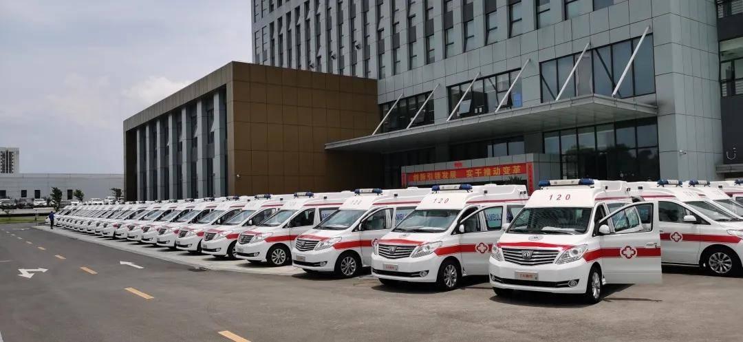 抗疫不松懈,34台风行高顶负压救护车再交付
