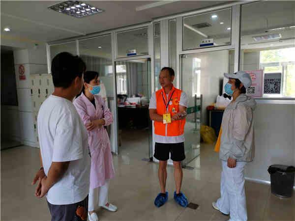 宣传义务献血,致敬机采志愿者