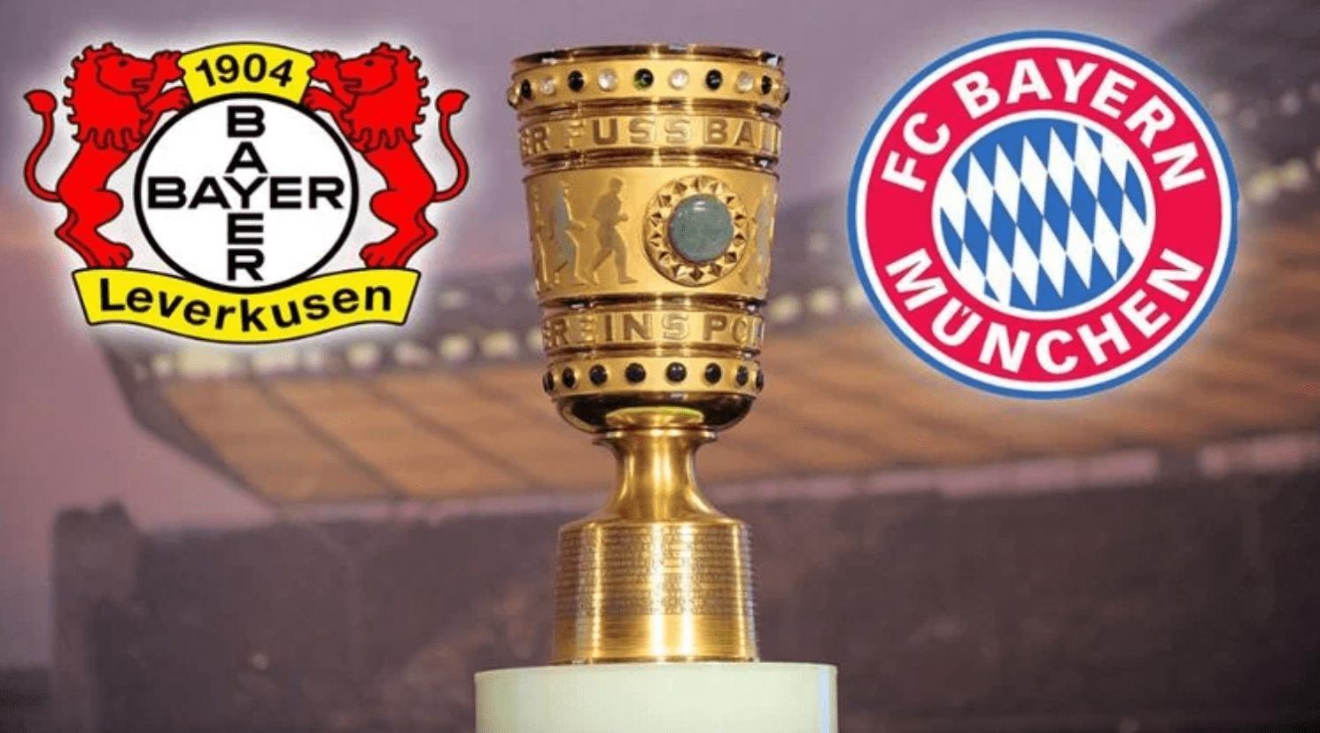 「德国杯」勒沃库森vs拜仁慕尼黑,拜仁双