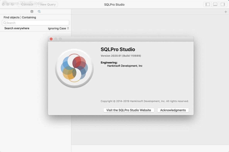 用于Mac(数据库管理器)v2020.61的SQLPro工作室