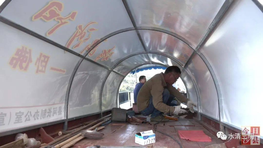首批沙县渔船创新入河,渔民们享受到了更美的