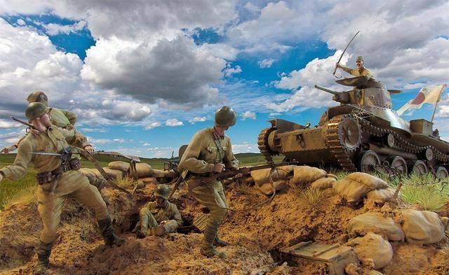 """""""诺门坎""""之战有多惨烈? 日军10天损失28000人, 尸体堆积在战场"""