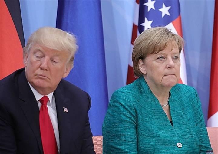 """德国要委曲求全?默克尔画风大变:要去美国""""面圣""""特朗普_德国新闻_德国中文网"""