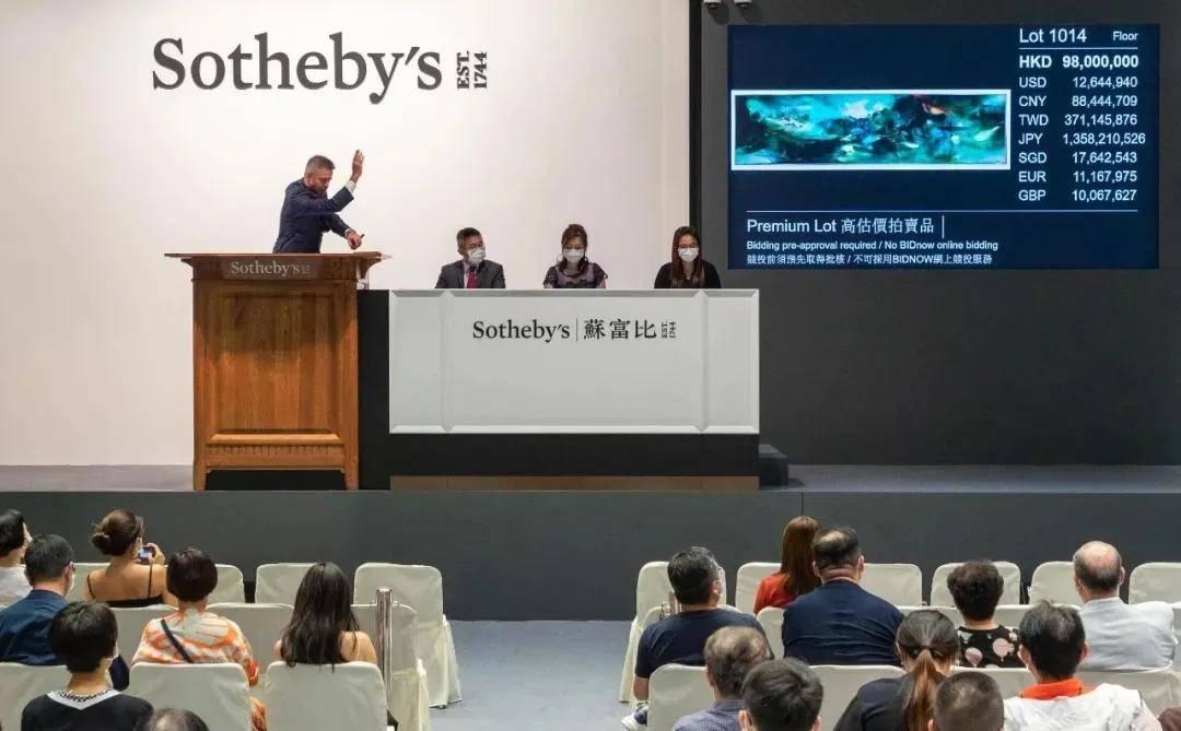 """4件过亿,8.68亿成交,苏富比现代艺术晚拍驱散""""市场寒冬"""""""