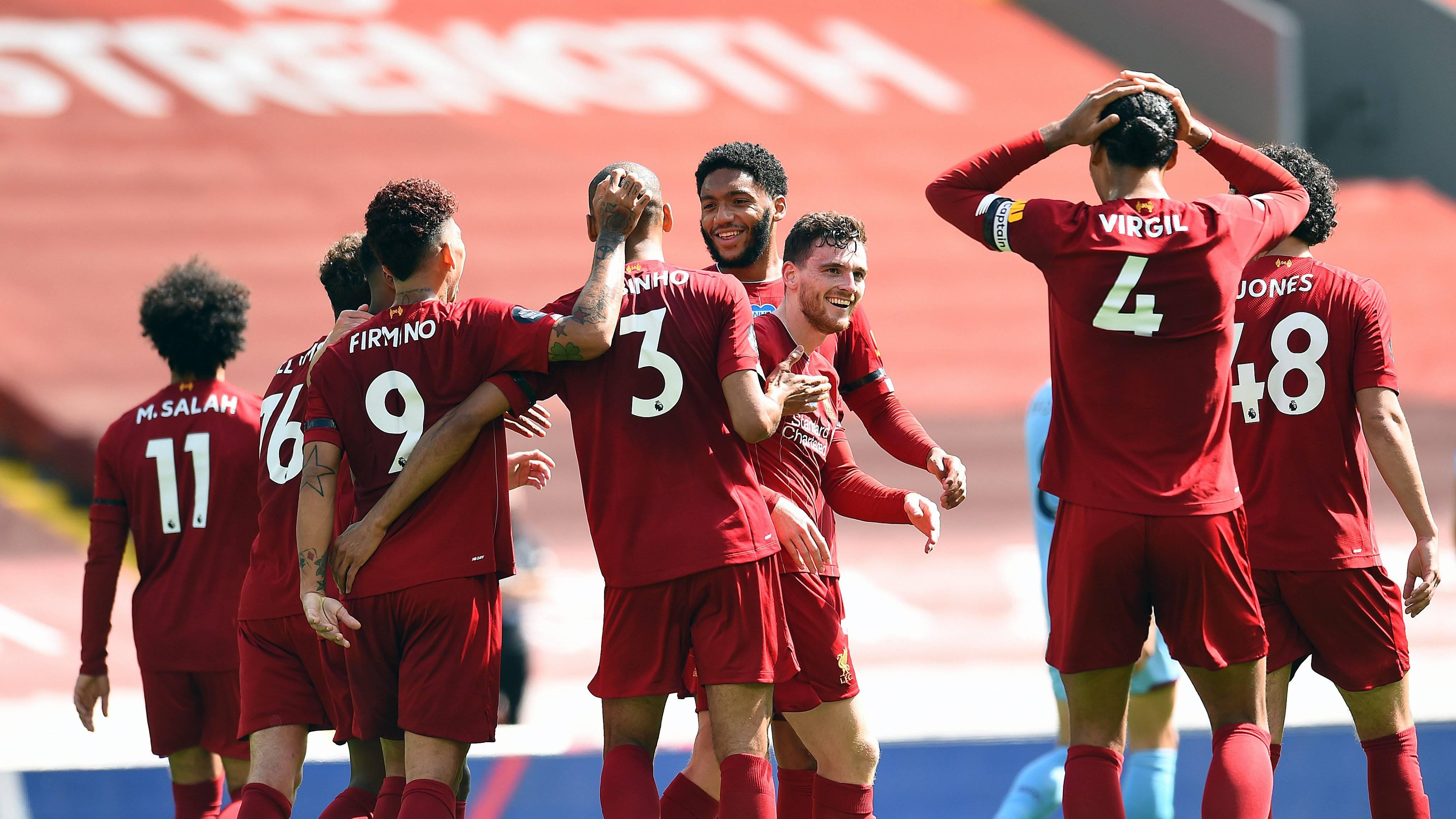 赛季主场全胜破灭!利物浦破百分纪录压力
