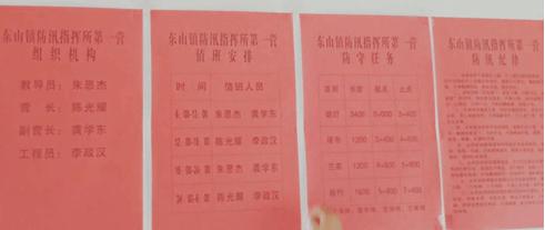 长江海岸线塔城站联合起来抗洪