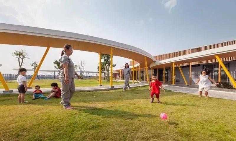 通过幼儿园的设计,可以培养幼儿的生活