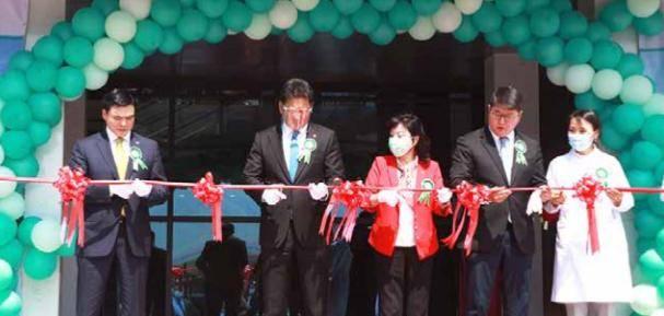 蒙古国妇幼保健院投入使用