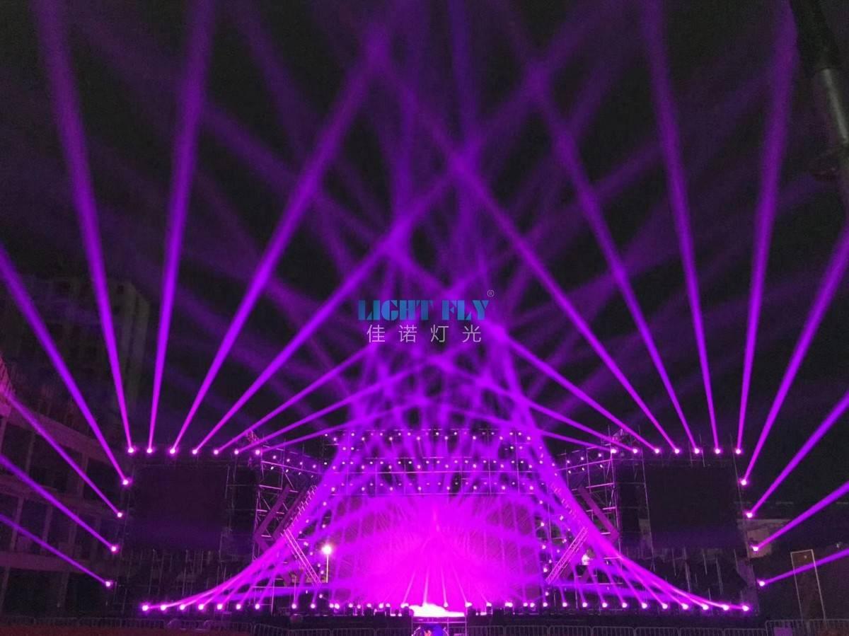 嘉诺照明助力中国西藏亚龙文化灯会