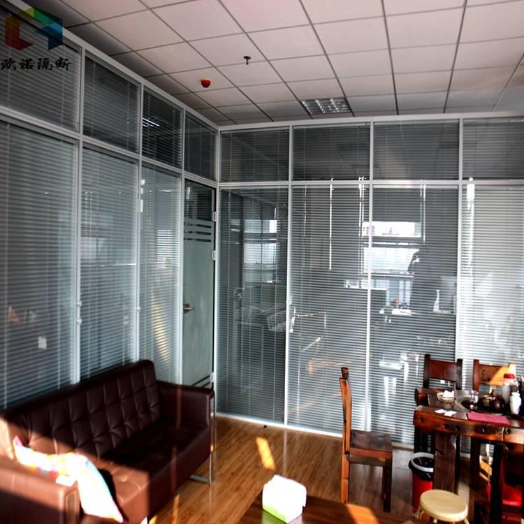 内置百叶窗隔离物理隔离措施 内置百叶窗