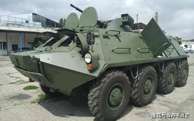 从未打过仗的苏联BTR