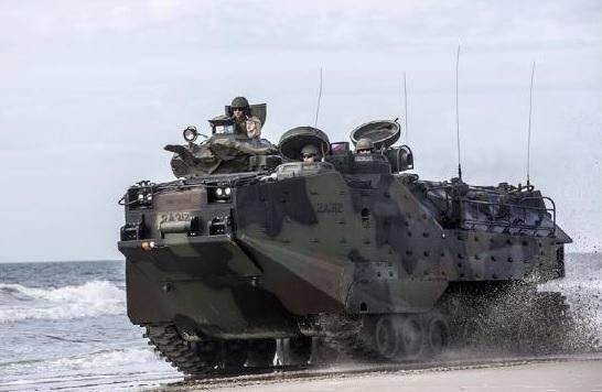 突发!美国海军陆战队一辆两栖突击车发生进水,目前1死8失踪