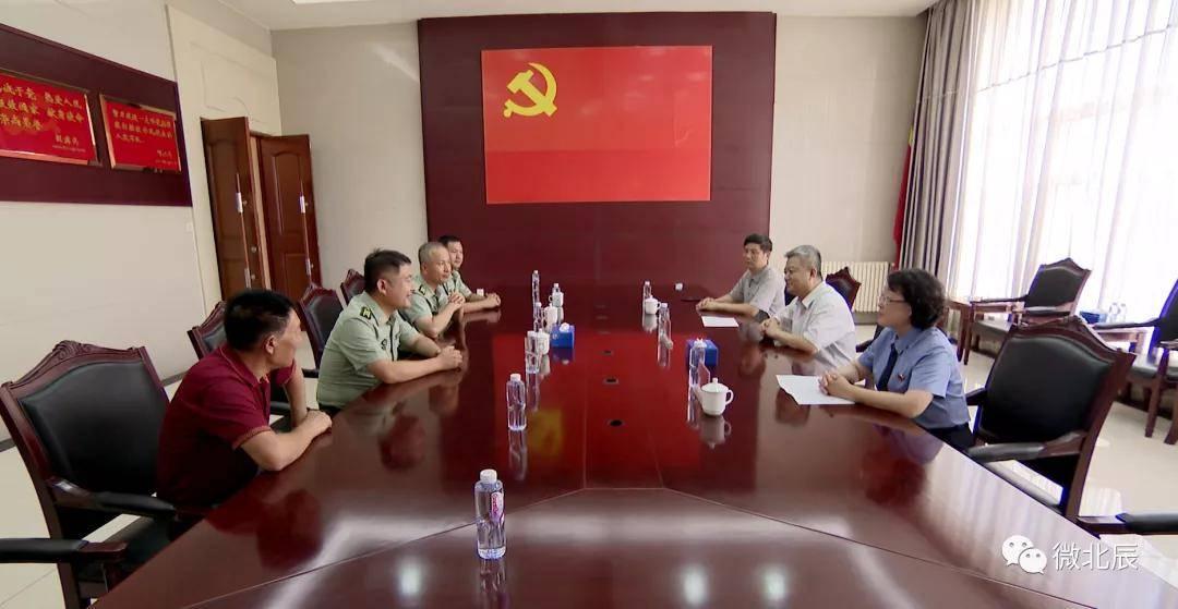 北辰区导游看望慰问驻区官兵和抗美援朝老同志~...