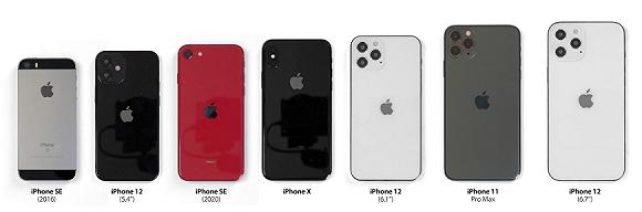 【iPhone12或将分成两批发售,6.1英寸先行,你准备购买哪一款?】