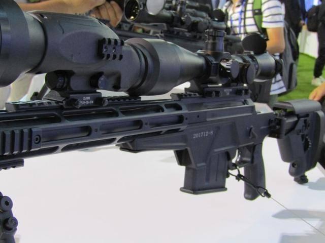 新型栓动狙击步枪,警用高精度狙击系统,采用7.62X51mmNATO子弹