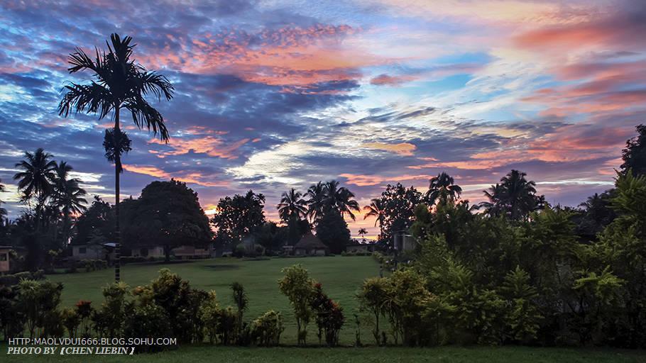 巴布亚新几内亚游记-拉包尔-土著部落