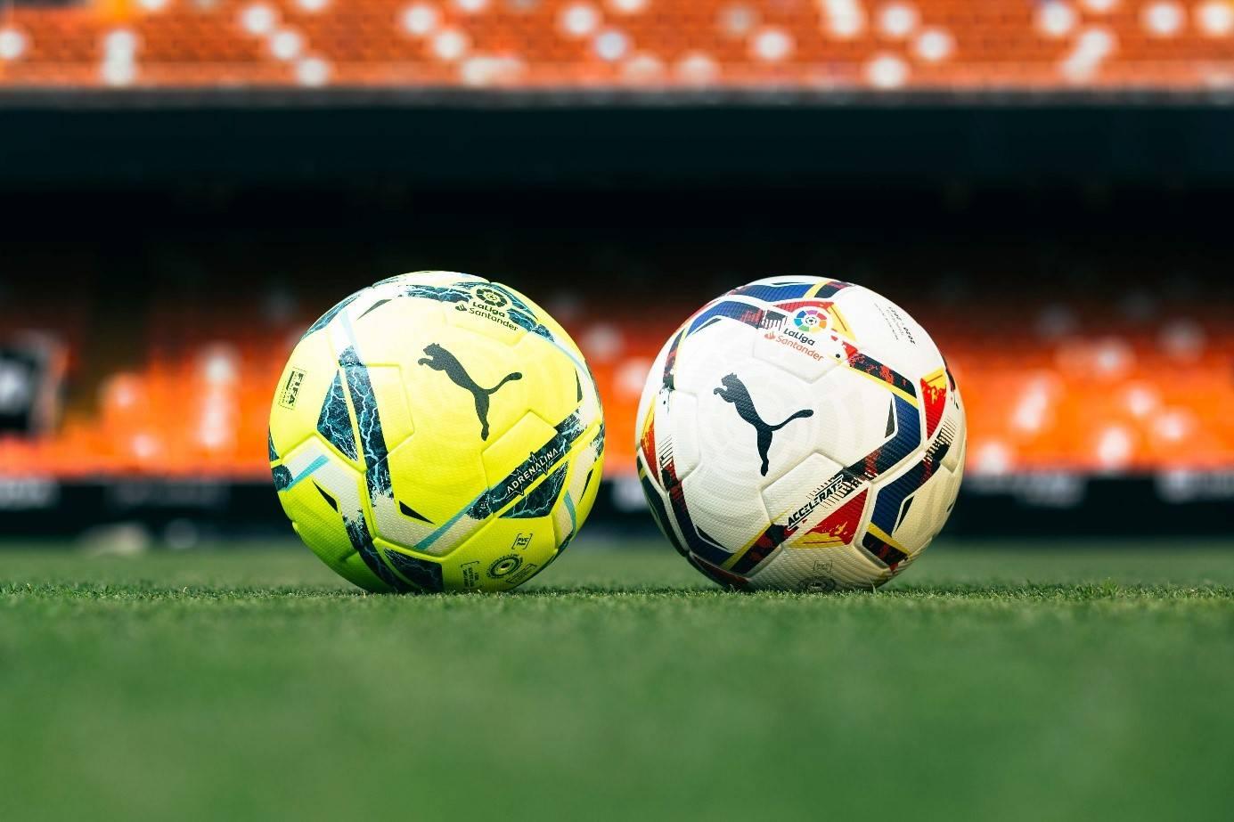 发布两款新赛季官方竞赛用球