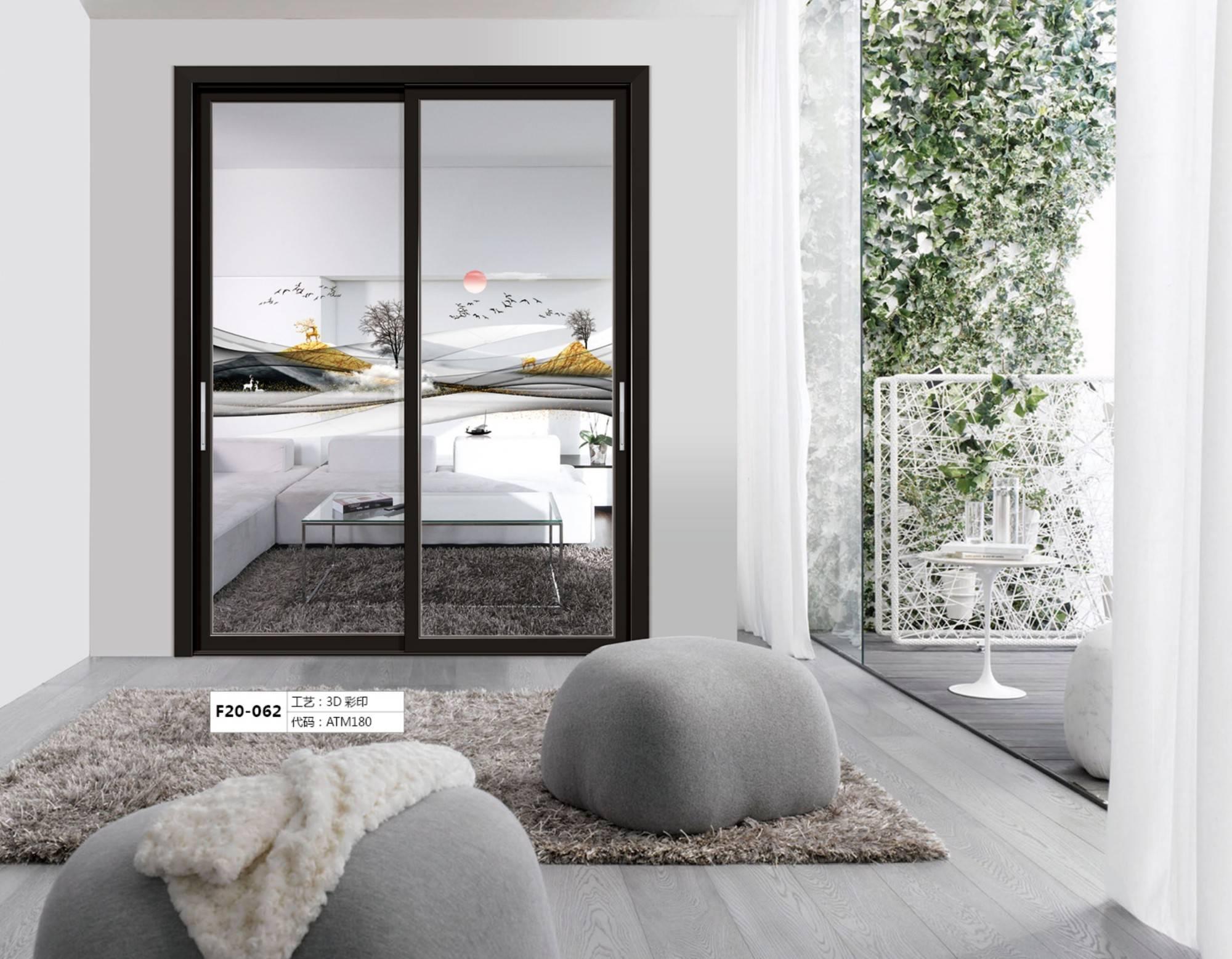 高端门窗制造商梵蒂冈 3D彩印门窗