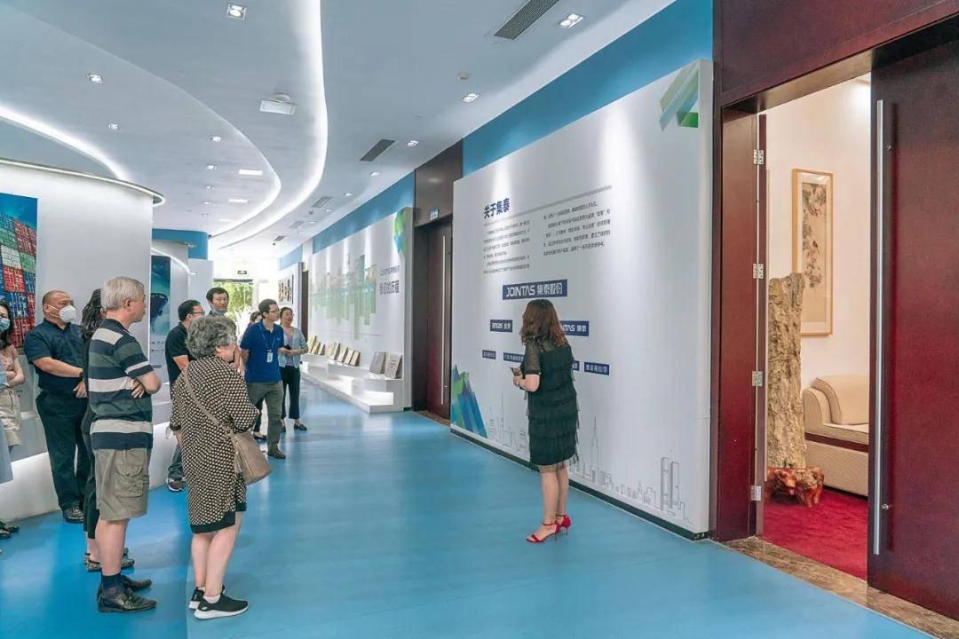 11选五吉林:上海修建学会幕墙专业委员会考察集泰股份 探讨幕墙设计实践