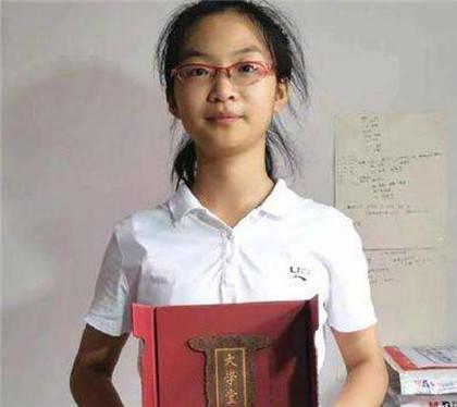 湖南15岁女孩成北大最小本科生
