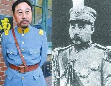他36岁时是一名中将,孙女唱了一首流行歌曲,拍了一部电影。