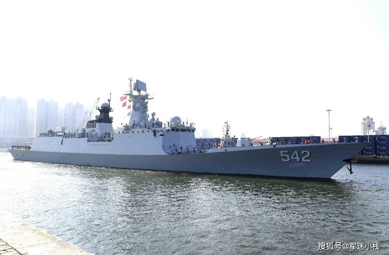 贵阳舰领航,052D抵达执行第四次护航任务